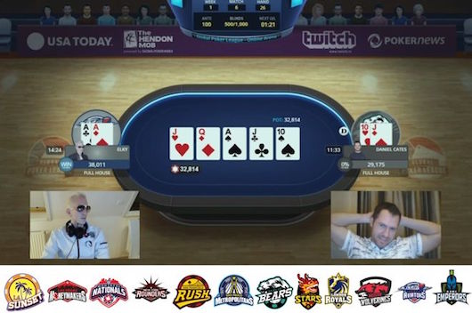 ElkY vs Jungleman in the Global Poker League