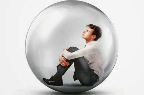 boy in bubble